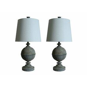 Brushed Nickel Lamp Set | Wayfair