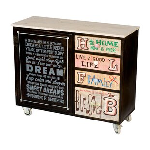 Iolanthe 4 Drawer, 1 Door Cabinet by Brayden Studio