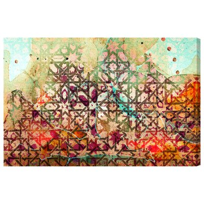 1001 Nights Graphic Art on Wrapped Canvas Bungalow Rose Size 40 H x 60 W x 2 D