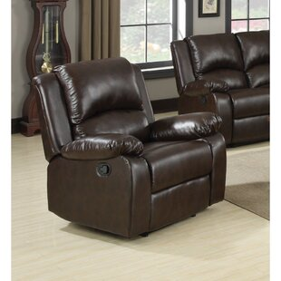Kissel Excellent Relaxing Upholstery Power Recliner by Alcott Hill