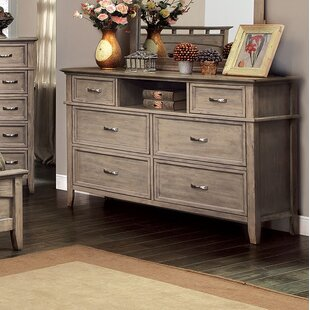 Loon Peak Hilliard 6 Drawer Double Dresser