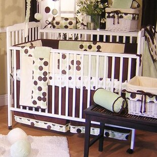 Online Reviews Minky Dot 4 Piece Crib Bedding Set ByBrandee Danielle
