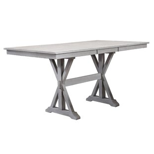 Clennell Counter Height Drop Leaf Dining Table