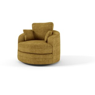 Latitude Run Hunziker Barrel Chair