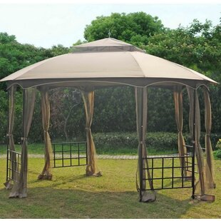 Replacement Canopy for 11' W x 13' D New Port Gazebo by Sunjoy