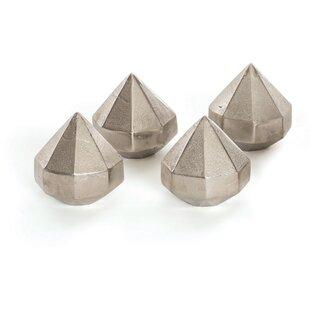 Brayden Studio Wanda Diamond Paper Weight (Set of 4)