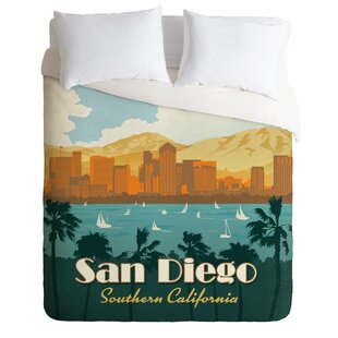 East Urban Home San Diego Duvet Cover Set