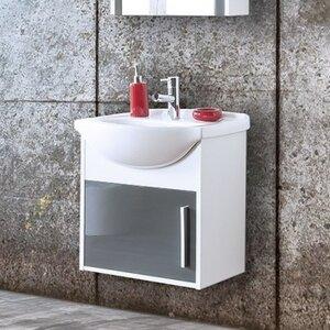 Belfry Bathroom 50 cm Wandmontierter Waschtisch Algodones