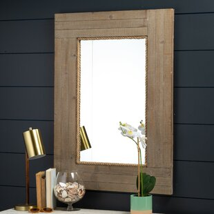 Compare prices Mcloughlin Accent Mirror By Breakwater Bay