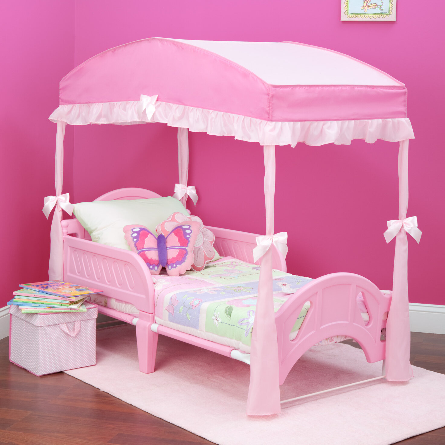 Superieur Delta Children Childrenu0027s Girls Canopy For Toddler Bed ...