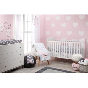 Sveta Infant 5 Piece Crib Bedding Set By Harriet Bee