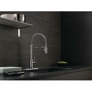 Trinsic Pro Pull Down Touch Single Handle Kitchen Faucet with MagnaTite® Docking and Touch2O® Technology