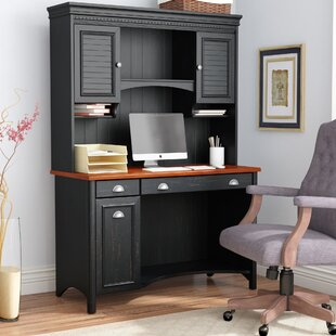 Carroll Computer Desk with Hutch by Darby Home Co
