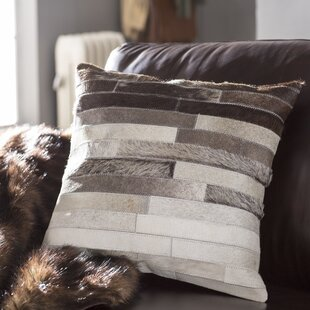 Truesdell Faux Fur Pillow Cover