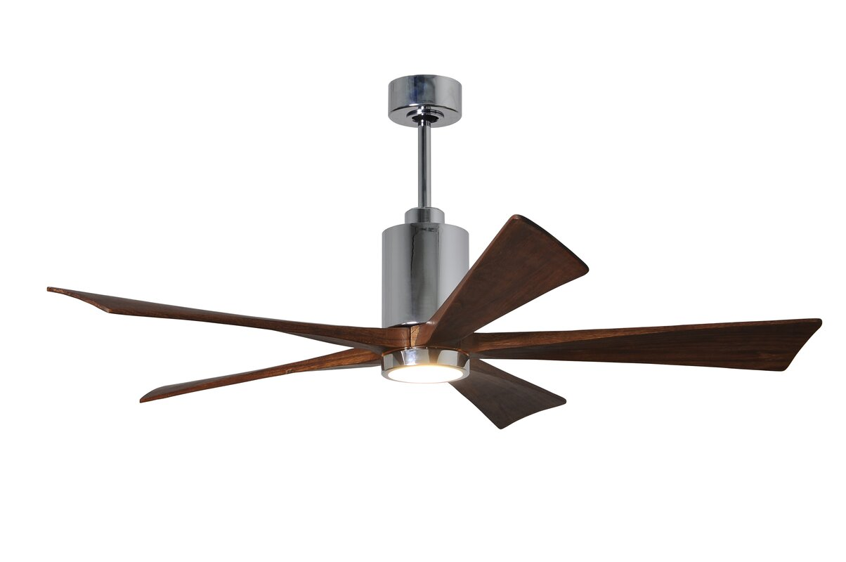 "60"" Patricia 5-Blade Ceiling Fan with Wall Remote"