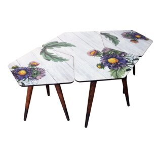 Bicester 3 Piece Nest Of Tables By Mercury Row