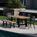 Cris 6 Piece Dining Set