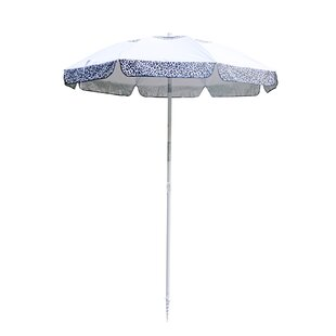 Luxe Leopard Beach Umbrella