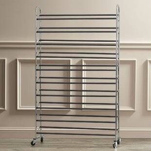 Rebrilliant 10-Tier 50 Pair Shoe Rack