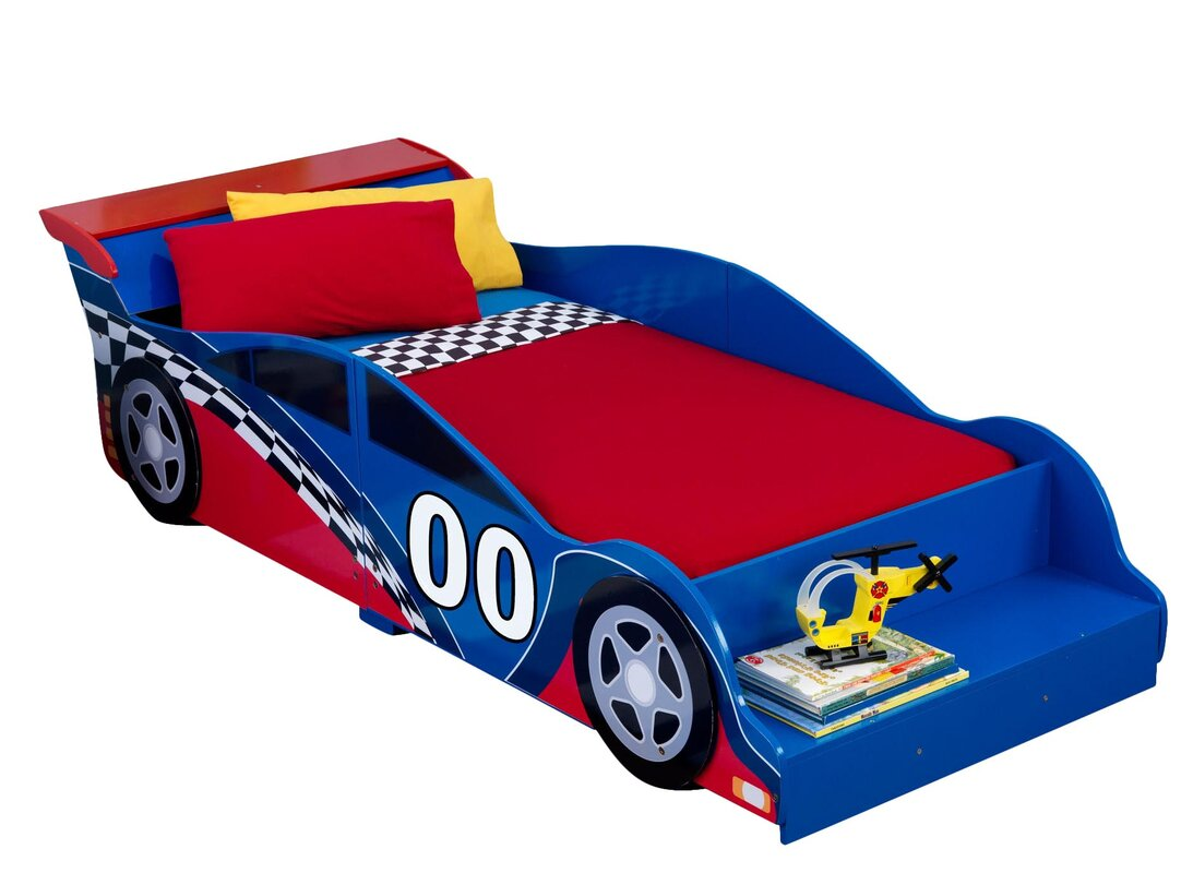 Uncategorized Bed Car kidkraft racecar toddler car bed reviews wayfair bed