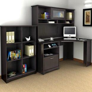 Red Barrel Studio Hillsdale 3-Piece L-Shape Desk Office Suite