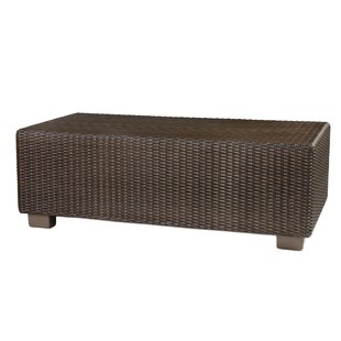 Montecito Wicker/Rattan Coffee Table by Woodard