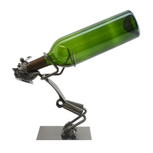 Standing Drunk Man 1 Bottle Tabletop Wine..