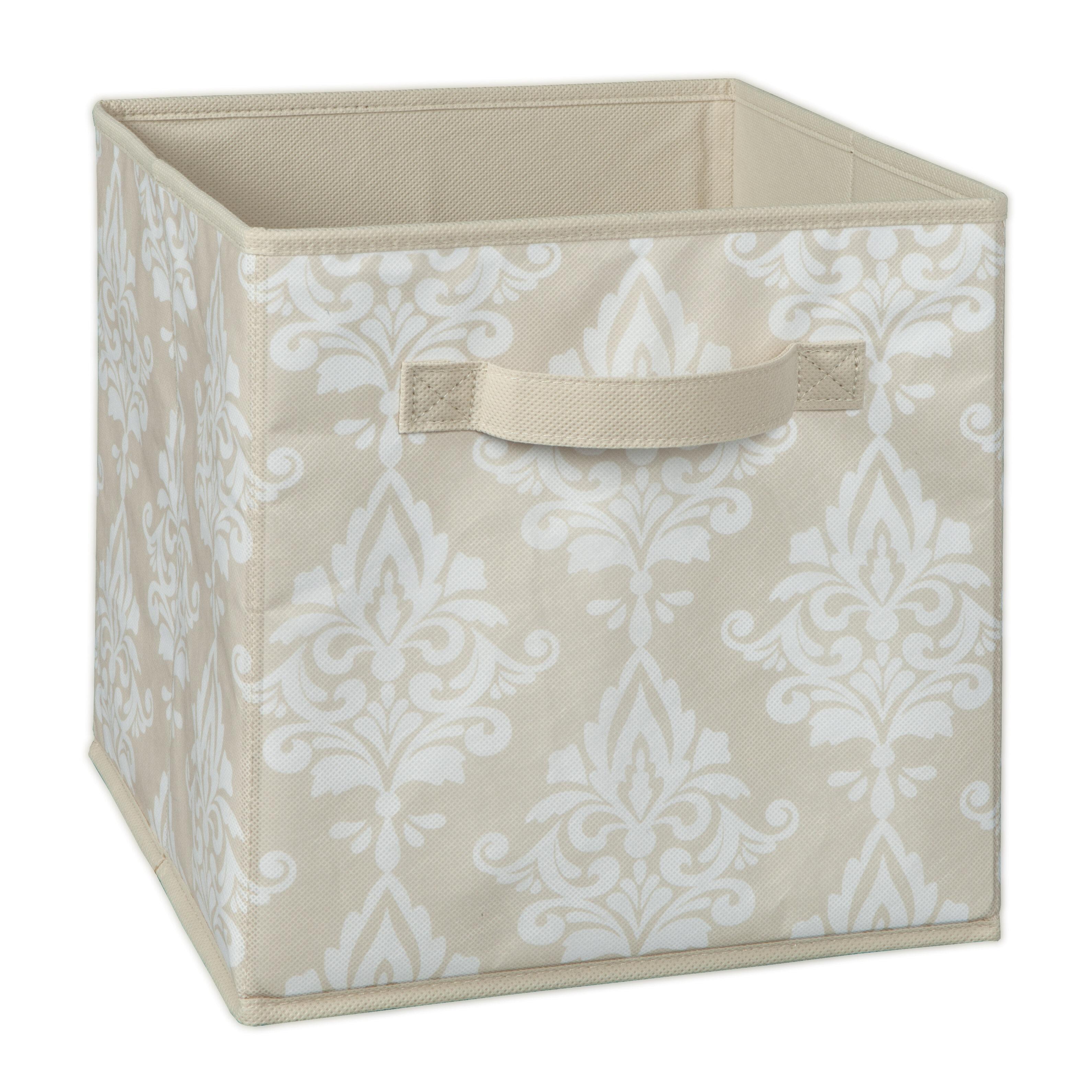 Closetmaid Cubeicals Damask Fabric Storage Bin Reviews Wayfair