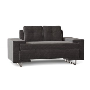 70 Square Arm Loveseat by Loni M Designs