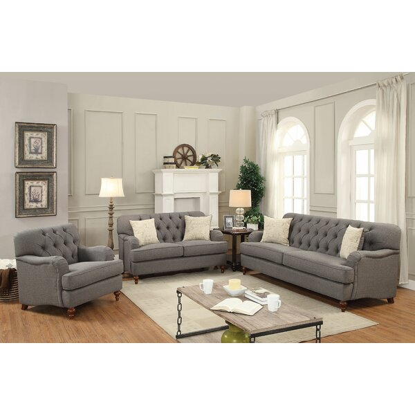 Oakes Configurable Sofa Set