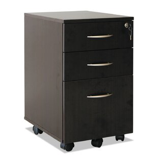 Jacobo 3-Drawer Mobile Vertical Filing Cabinet
