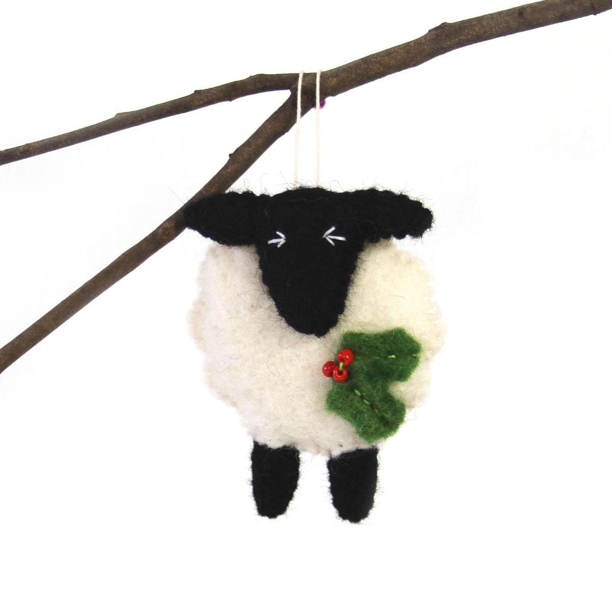 The Holiday Aisle Sheep Hanging Figurine Ornament Wayfair