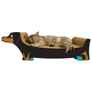 Dachshund Recycled Paper Scratching Board
