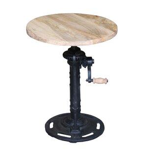 Oldsmar Height Adjustable Swivel Bar Stool By Mercury Row