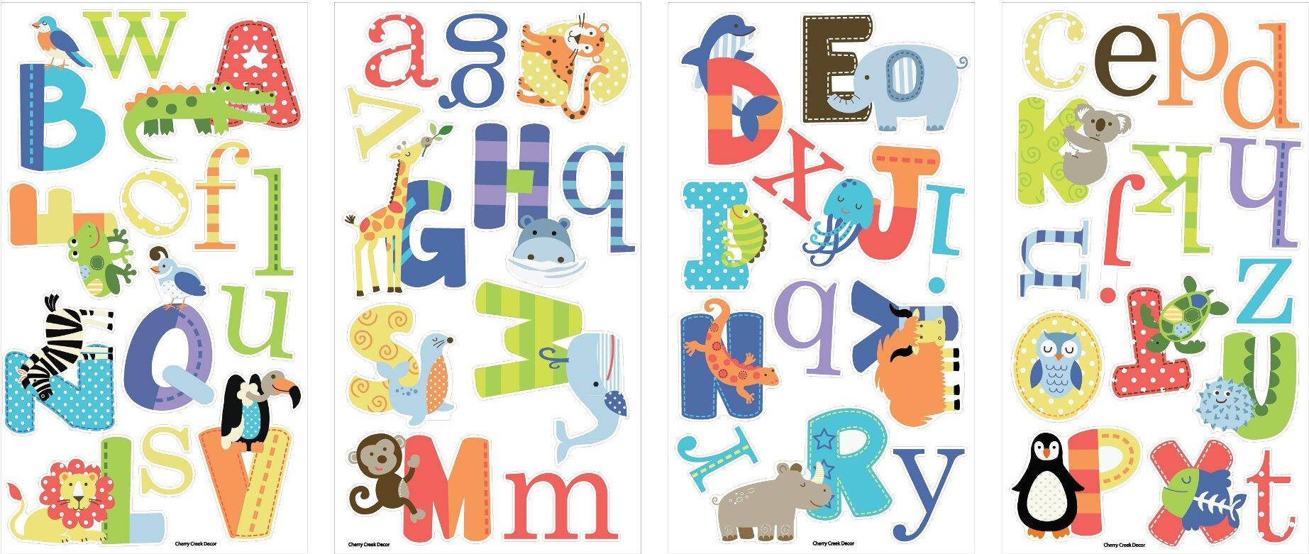 Alphabet Wall Decals | Wayfair