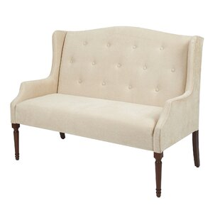 Galilee Tufted Settee by Alcott Hill