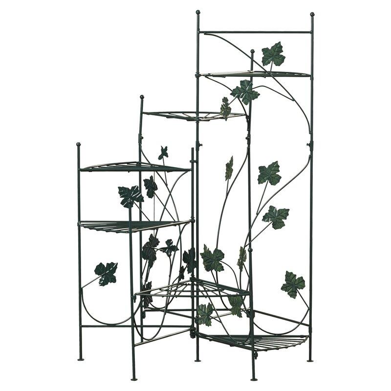 Heathcote Climbing Vines Multi-Tiered Plant Stand