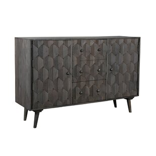 Dussault 3 Drawer Sideboard George Oliver