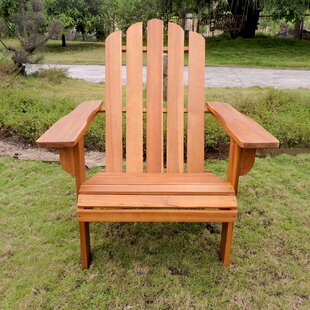 Maly Somerville Wood Adirondack Chair