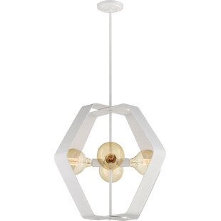 Barber 4-Light Geometric Chandelier