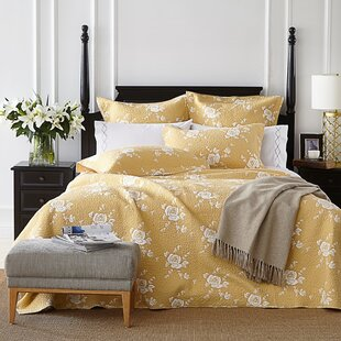 Rose Melody Luxury Hand Made Single Reversible Quilt