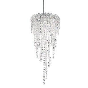 Chantant 3-Light Crystal Pendant by Schonbek