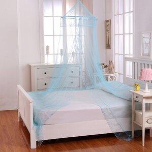 Jaymes Kids Collapsible Hoop Sheer Bed Canopy