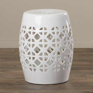 Dreyer Circle Lattice Accent Stool by Mistana