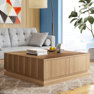 Hayse Coffee Table with Storage by Latitude Run