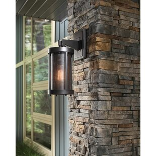 17 Stories Patton 1-Light Outdoor Wall Lantern