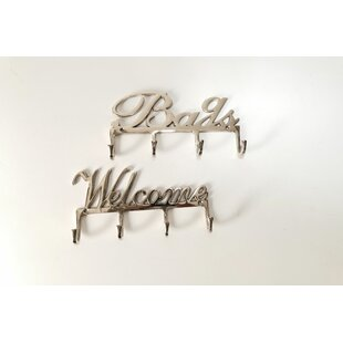 Dillman 2 Piece Wall Mounted Coat Rack By Brambly Cottage