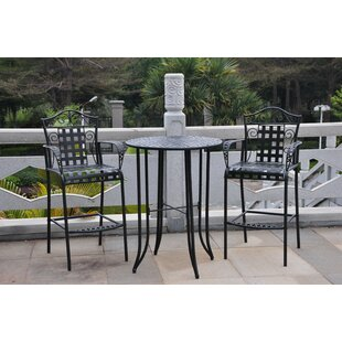 Outdoor High Top Bistro Set | Wayfair