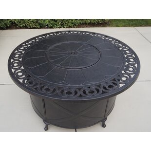 AC Home & Patio Aluminum Propane Fire Pit..
