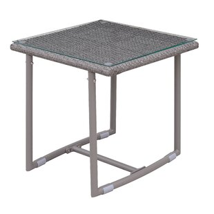 Blunt Aluminum Side Table